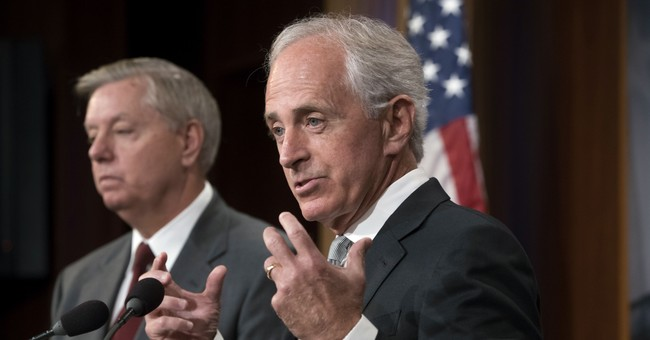 The Latest: Corker says tentative agreement on debt figure