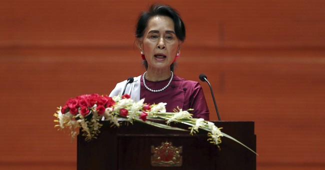 UN team: Suu Kyi words 'bode well' for bid for Myanmar probe
