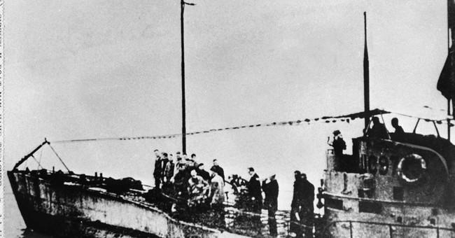 German WWI U-boat found off Belgium with 23 bodies inside