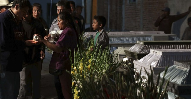 Mexican family mourns 11 dead after church falls at baptism