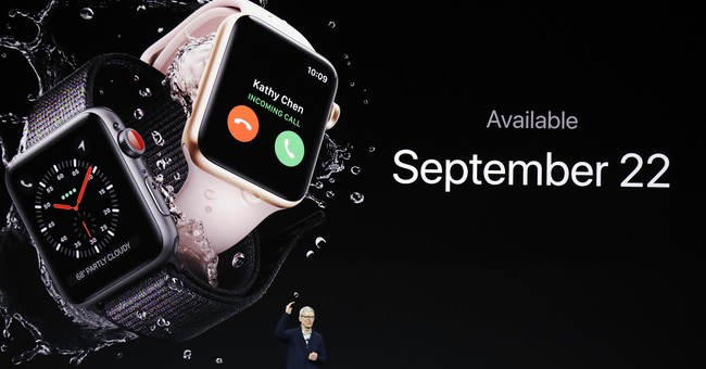 Apple says its new watch has cellular connectivity problems