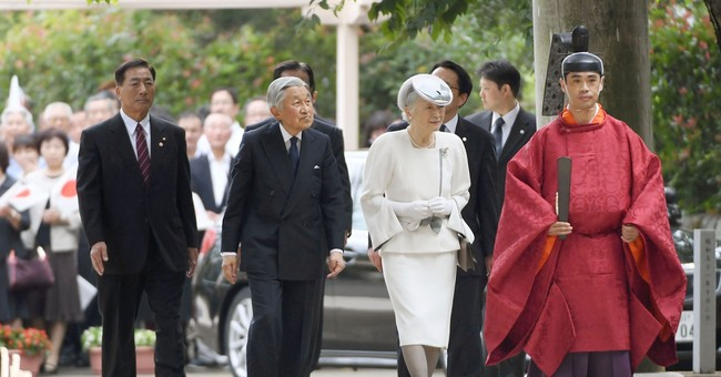 Japan's emperor visits shrine for ancient Korean settlers