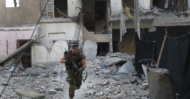 Battle against IS in Raqqa is in 'final stages,' force says
