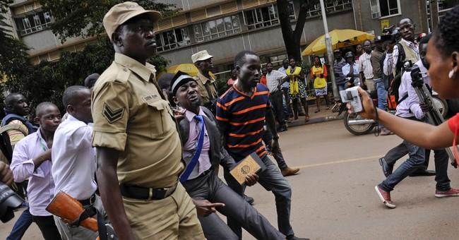 Ugandan police tear gas protesters of 'life presidency' bill