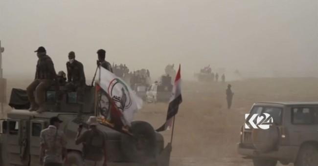 Iraqi Shiite militias join battle for IS-held town of Hawija