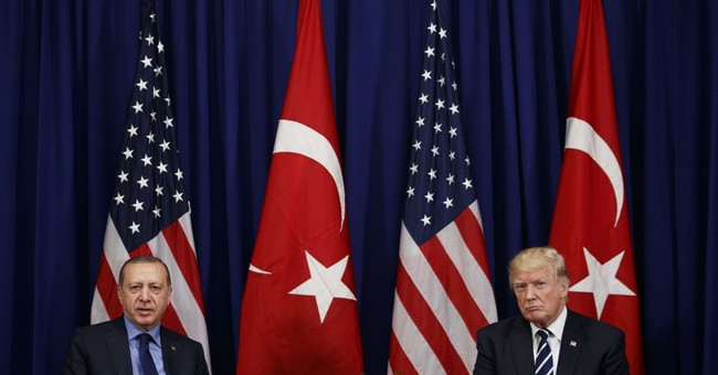 Trump, Turkish president meet with 'many issues' to discuss
