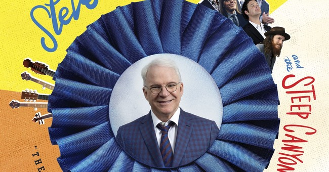 Review: Steve Martin puts humor and love in bluegrass form