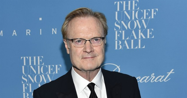 MSNBC's Lawrence O'Donnell apologizes for off-air rant