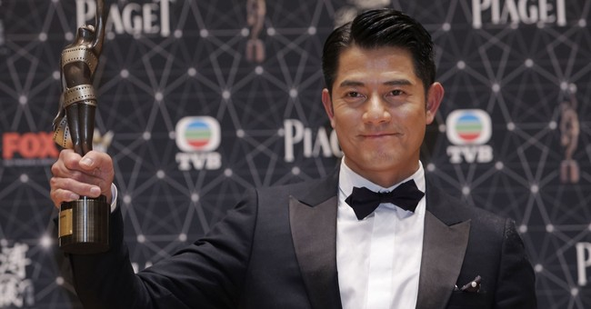 Hong Kong superstar Aaron Kwok announces he's a father
