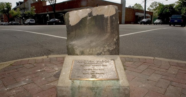NAACP calls to move slave auction block from city's downtown