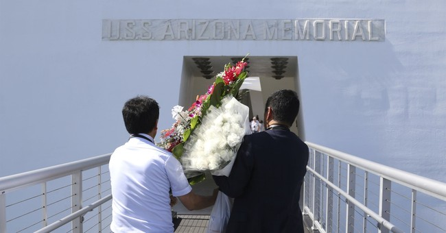 Kin of fallen Japan soldiers pay respects at Pearl Harbor