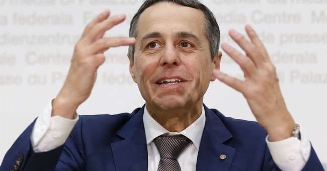 Newcomer to Swiss executive body chosen as foreign minister