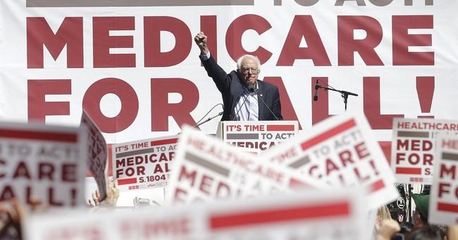 Sanders slams GOP, touts universal health care in California