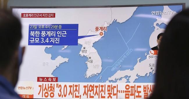 South Korea says natural North Korea earthquake detected