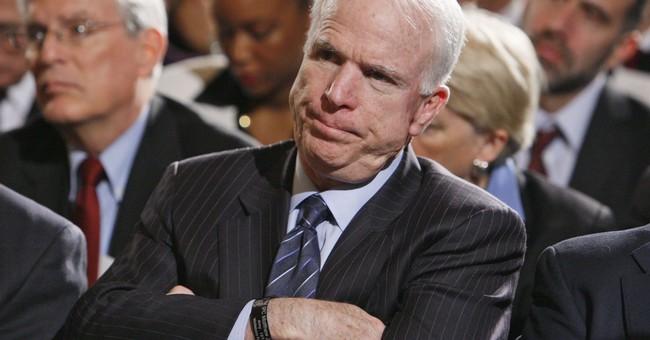 McCain's choice: Ailing senator plays spoiler again for GOP