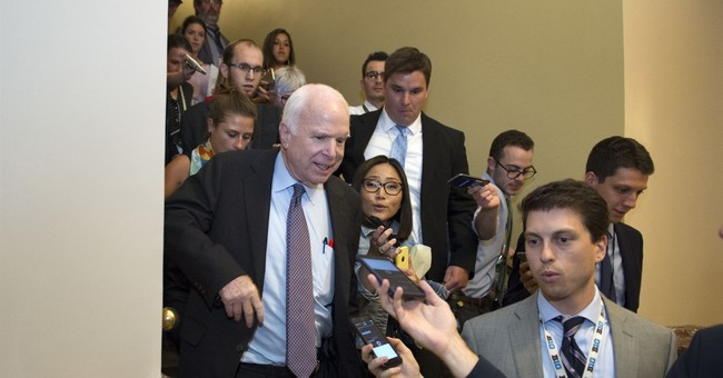 McCain's choice: Ailing senator plays spoiler again for GOP