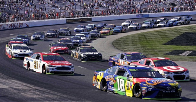 Kyle Busch gets NASCAR playoff win in New Hampshire