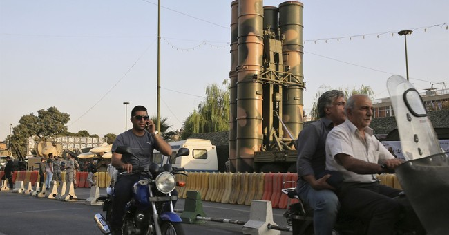 Iran displays S-300 air defense missile system to public