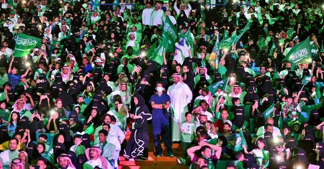 Saudi festivities stress unity amid political, economic woes