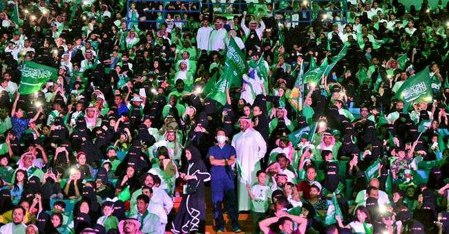 Saudi festivities stress unity amid political, economic woes
