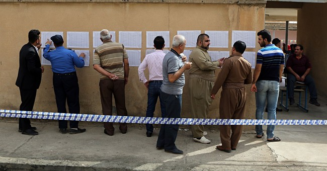 The Latest: UN regrets Iraq's Kurds went ahead with vote