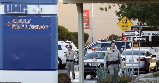Mistakes made before hospital ER shooting, Vegas police say