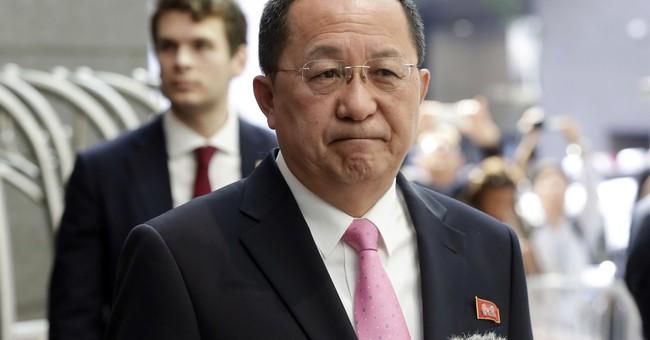North Korean diplomat says tweet by Trump 'declared war'