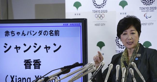 Japan's baby panda now has a name: Xiang Xiang, or fragrance