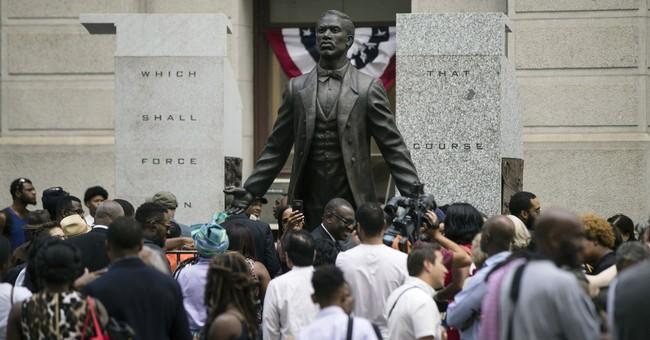 Philadelphia honors black activist with City Hall statue