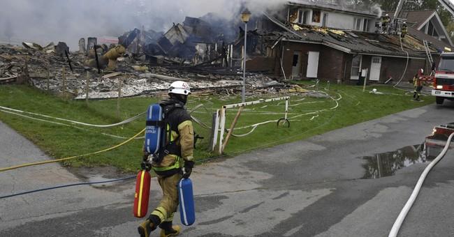 Man arrested on suspicion of arson at Swedish mosque