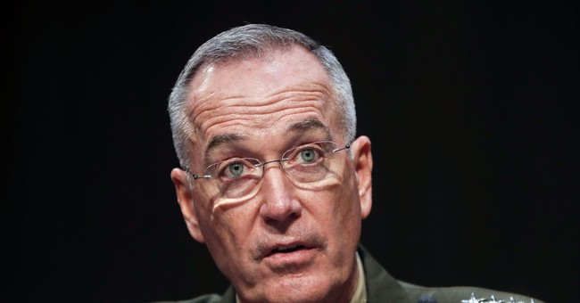 Dunford says NKorea military posture unchanged amid tension