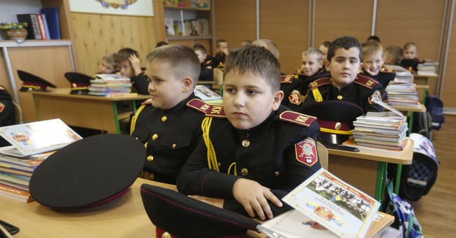 Ukraine's president signs controversial education law