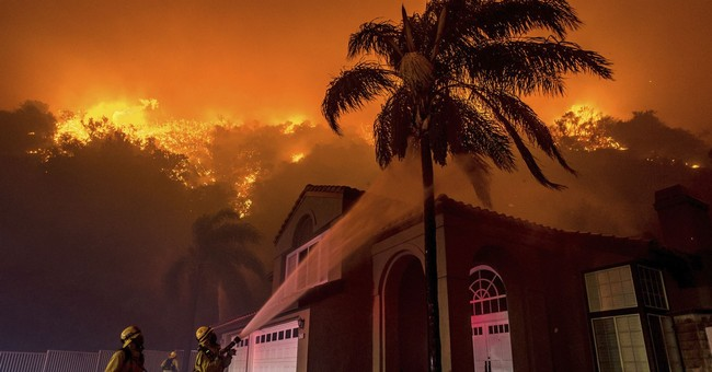 Latest: All evacuations lifted in Southern California blaze