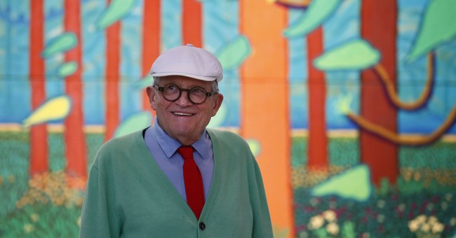 Going deaf has sharpened my art, David Hockney says
