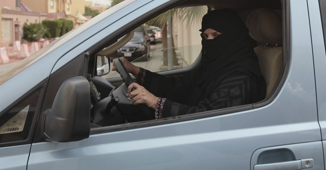 The Latest: UN head welcomes Saudi move letting women drive