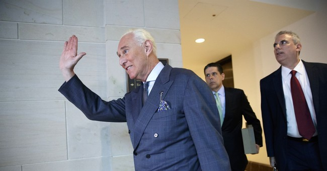 The Latest: Stone says no 2016 coordination with Russia