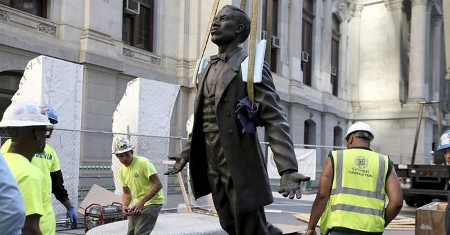 The Latest: Philadelphia honors black activist with statue