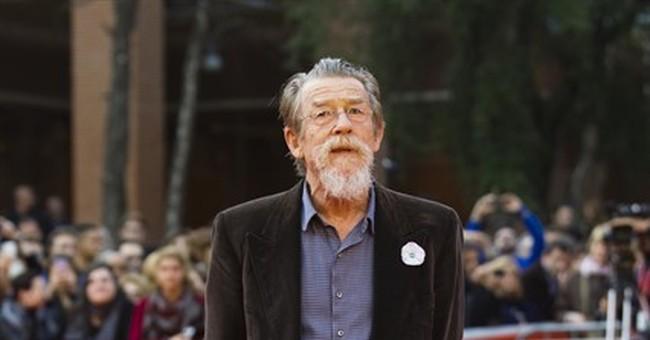 "John Hurt, Oscar nominated for ""The Elephant Man"" dies at 77"