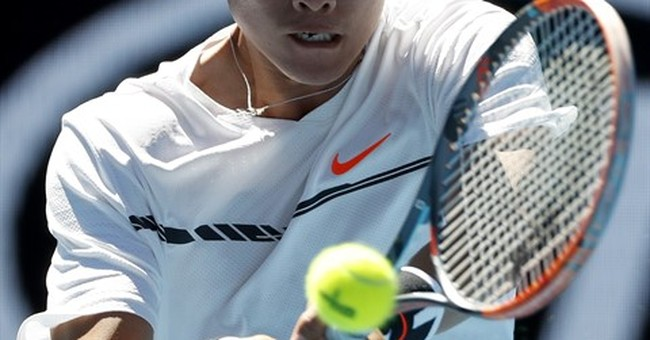 China hopes teenager could become first male tennis star