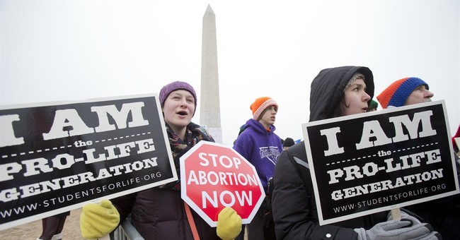 Anti-abortion groups hold triumphant rally after Obama years