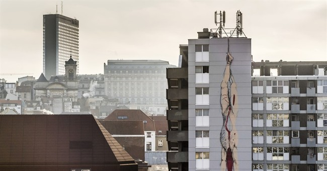 Blood and gore: Brussels asks how far street art can go