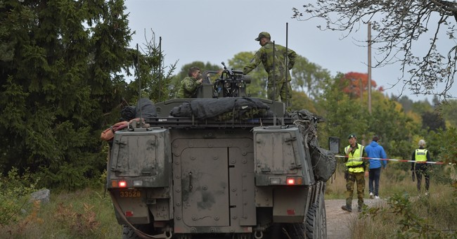 Sweden: 1 soldier seriously injured in train accident