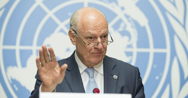 UN envoy calls for new round of Syria talks in about a month