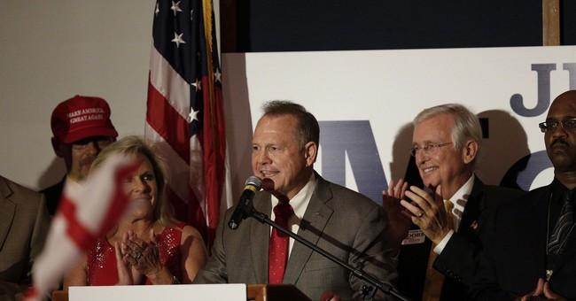 The Latest: Trump: Moore will be a 'great senator'