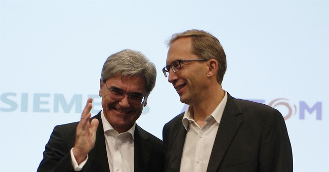 The Latest: Germany welcomes Siemens-Alstom merger