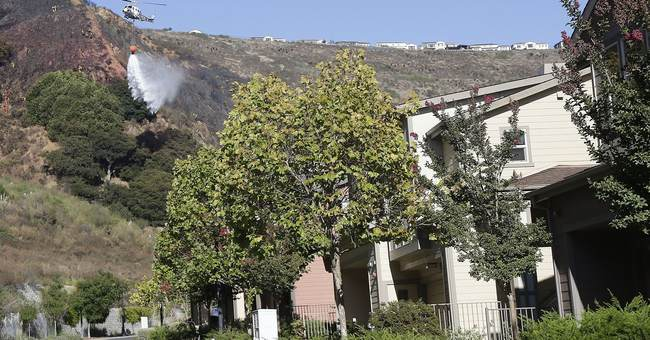 Aggressive firefighters protect Southern California suburbs