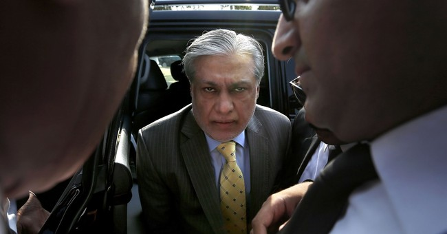 Pakistani court indicts finance minister on graft charges