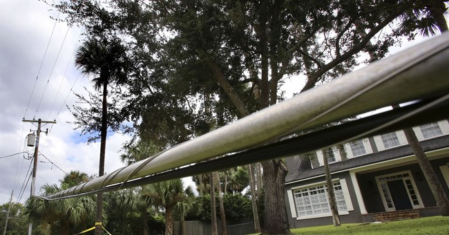 Why is the internet still out for some in Florida?