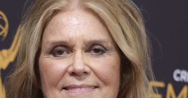 Gloria Steinem honored by sex assault defense group