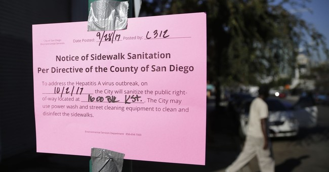 San Diego increases homeless citations in hepatitis outbreak